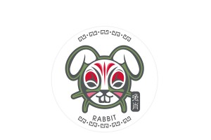 十二生肖杯墊 - 兔
