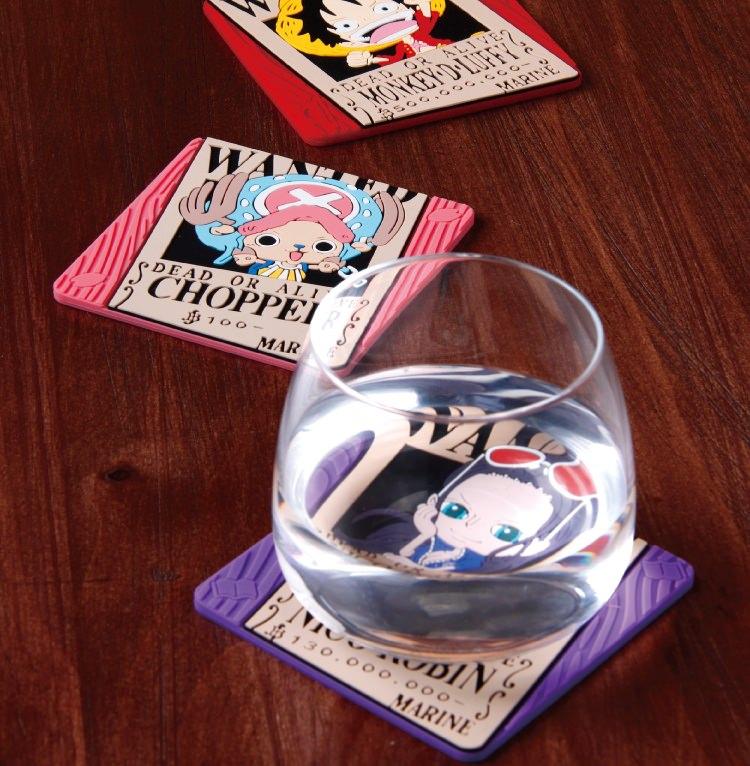 喜朋,航海王杯墊,航海王,週邊,懸賞杯墊,海賊王,杯墊
