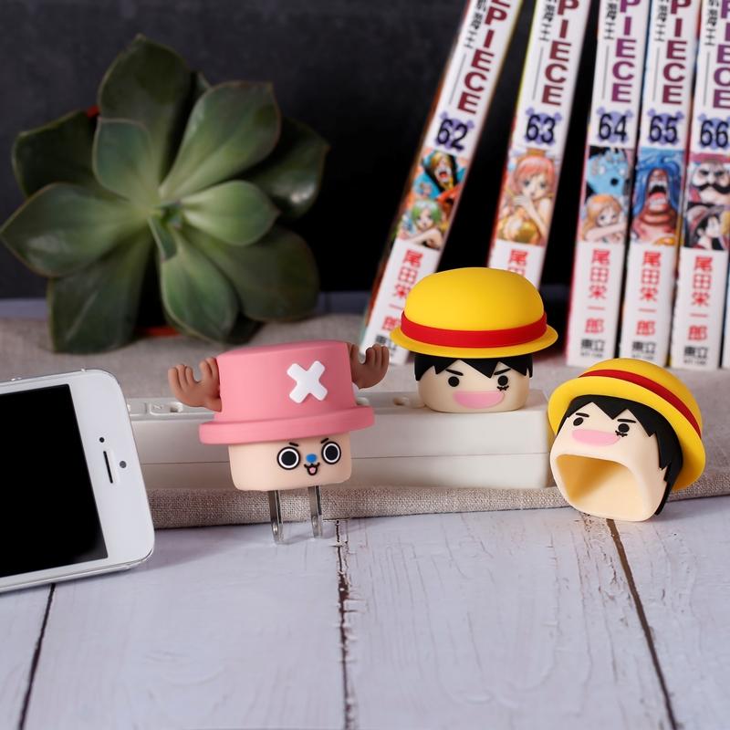 航海王充電器,USB,海賊王,矽膠文創