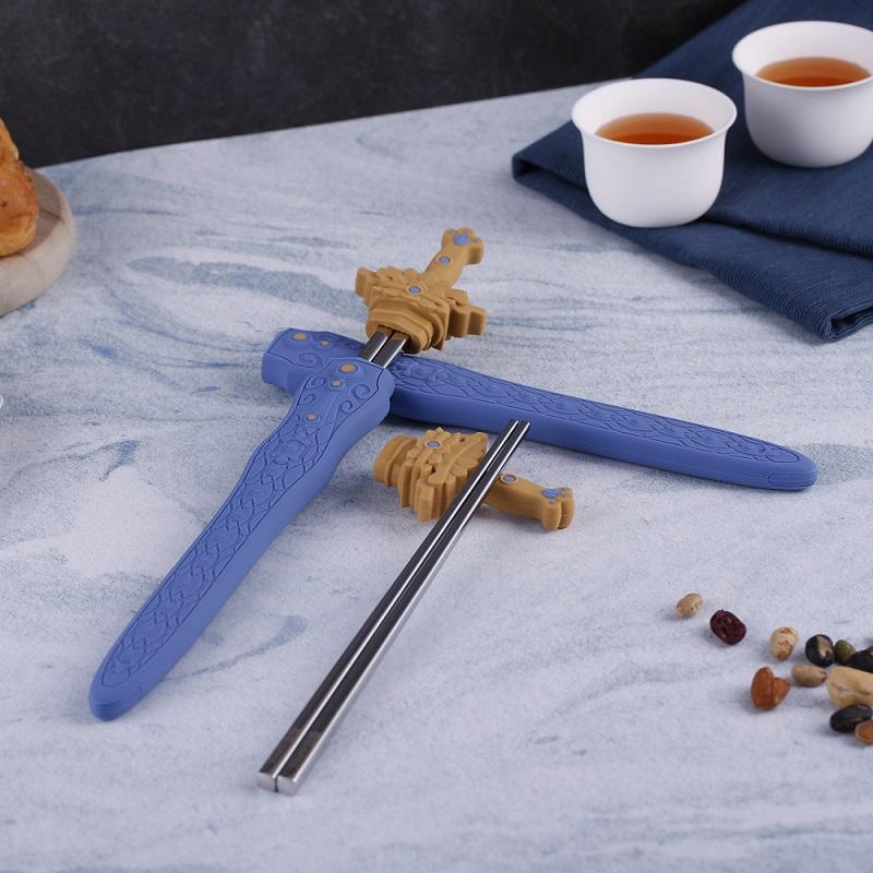 霹靂環保筷,喜朋,矽膠,文創,霹靂,劍箸